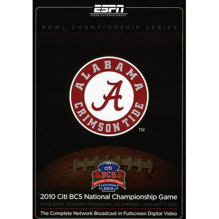 2010 Citi BCS National Championship (DVD) Bcs National Championship Tickets