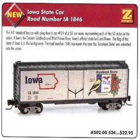 MicroTrains Z State of the Union Series - Iowa - 40' Box Plug -
