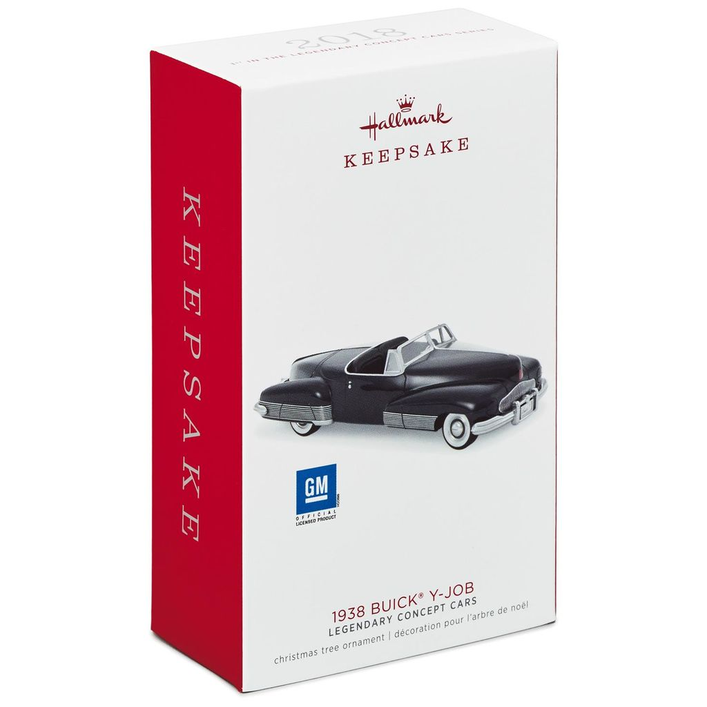 Hallmark Keepsake 2018 Legendary Concept Cars 1938 Buick® Y-Job Metal Ornament