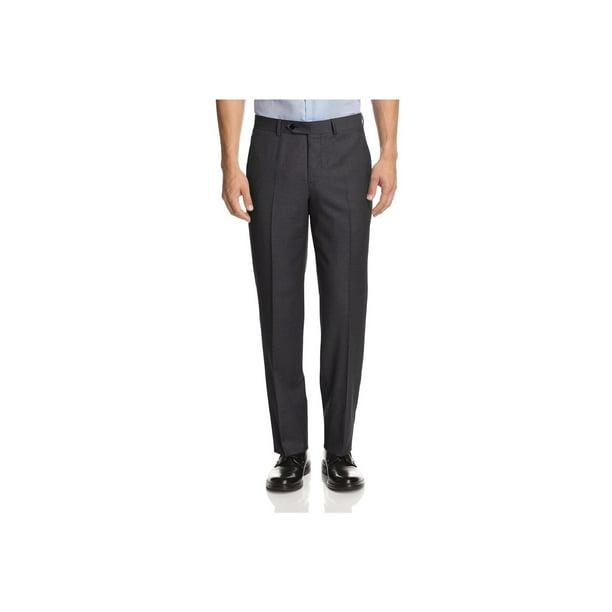 Giorgio Napoli - GN GIORGIO NAPOLI Men's Suit Separates Dress Pants Flat  Front Classic Modern Fit Charcoal - Walmart.com - Walmart.com