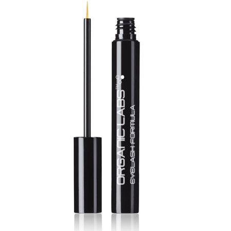 Eyelash Eyebrow Growth Serum from Organic Labs Best Natural Enhancer Formula For Long Thicker And Fuller Lashes And Brows Powerful Stimulating Conditioning Treatment