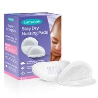 Lansinoh Stay Dry Nursing Pads, 60 count