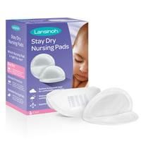 Lansinoh Stay Dry Nursing Pads, 60 count