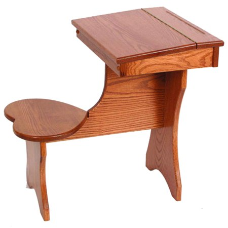Furniture Barn Usa Oak Toddler Size Lift Top Desk With