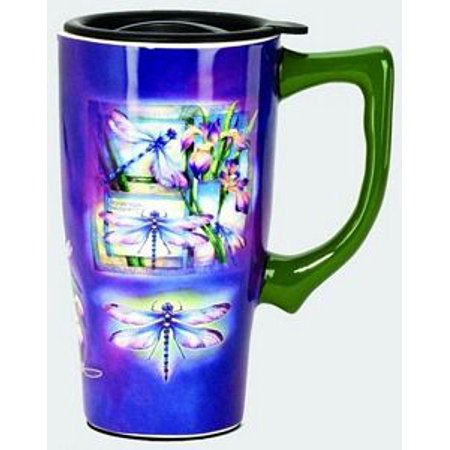 Dragonfly Travel Mug by Spoontiques - 12671