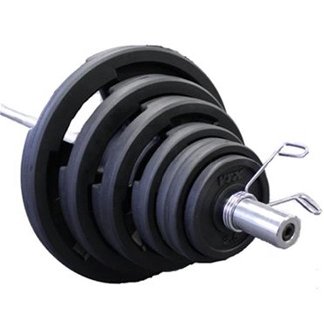 Troy Barbell GOSS-300VR VTX 300 lb. Olympic Rubber Grip P...