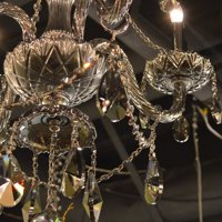 Worldwide Lighting Provence 6-Light Crystal Chandelier