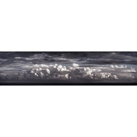 Black rose tinted clouds Cabo San Lucas Mexico Canvas Art - Panoramic Images (36 x 9)