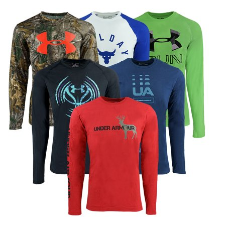 064fc455b554 Under Armour - Under Armour Men s Mystery L S T-Shirt - Walmart.com