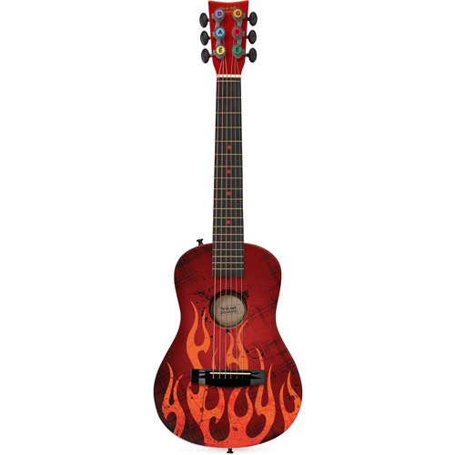 """First Act 30"""" Acoustic Guitar, Red Flame"""