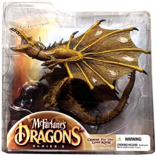 McFarlane McFarlane's Dragons Series 3 Fire Clan Dragon 3 Action Figure