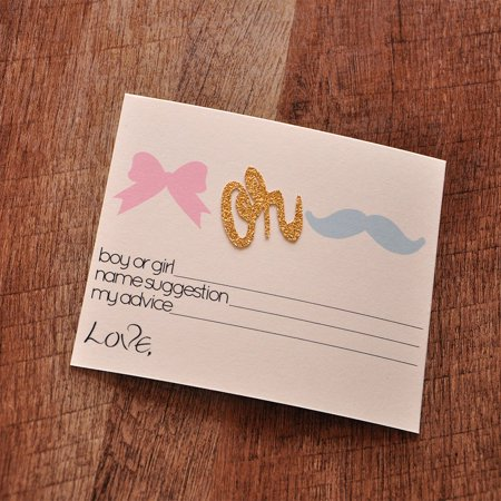Reveal Gender Ideas (Gender Reveal Party Prediction Cards 10CT. Ships in 1-3 Business Days. Gender Reveal Party Ideas. Mustache Or)