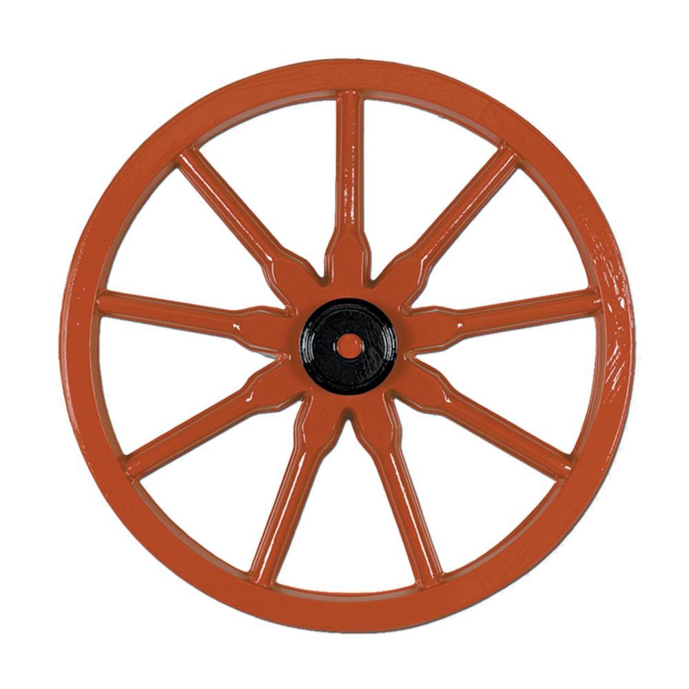 Beistle (24ct) Western Party Plastic Wagon Wheel