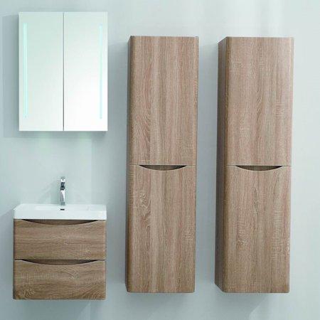 Eviva Smile 24 in. Single Sink Wall Mount Bathroom Vanity Set