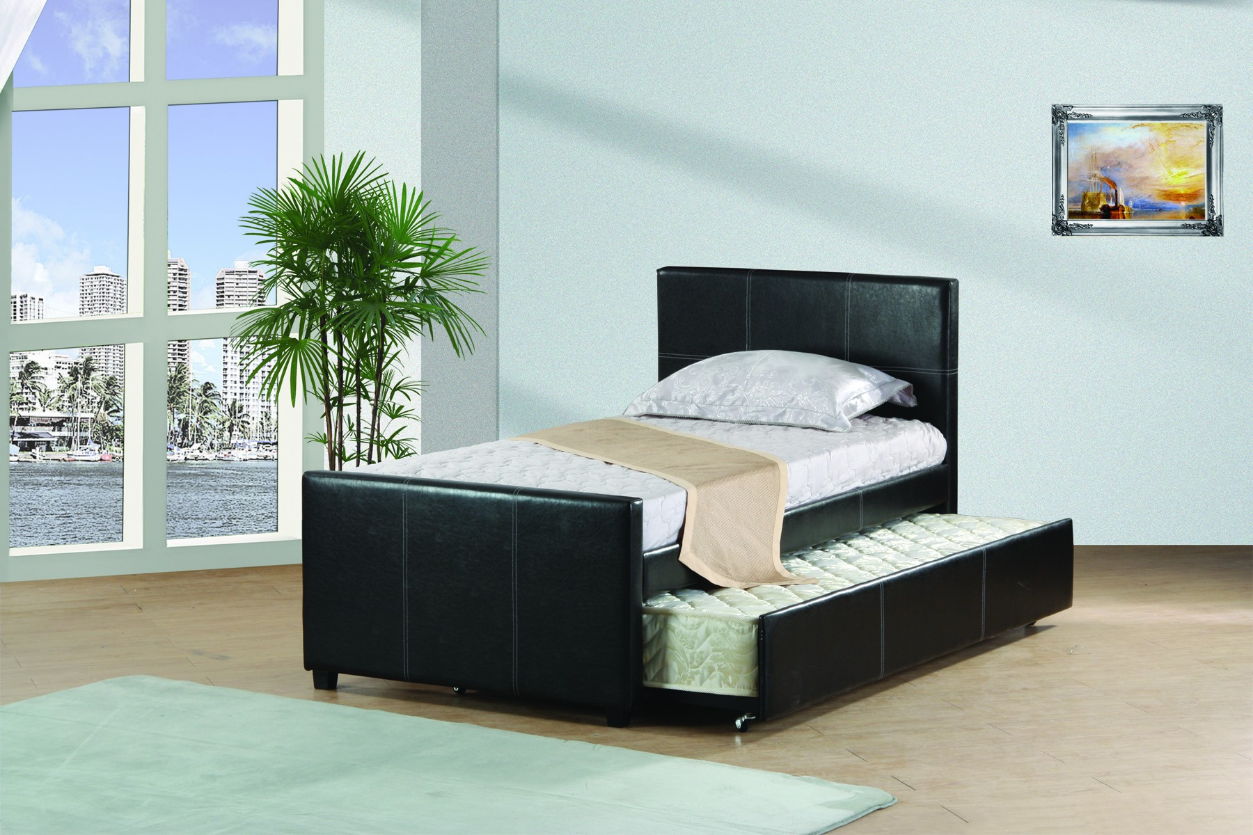 Best Quality Twin Trundle Bed K10 by Best Quality