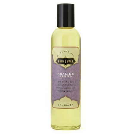 Kama Sutra Massage Oil, Healing Blend, 8 Fl Oz