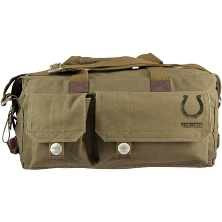 Little Earth NFL Large Prospect Weekender Bag, Indianapolis Colts by