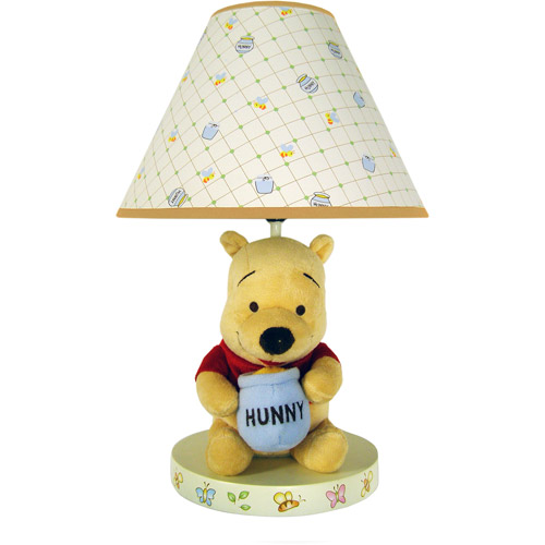 Disney - Winnie the Pooh Lamp with Shade