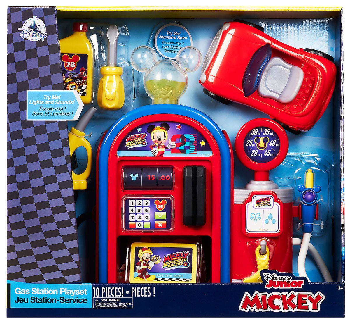 Disney Mickey Mouse Clubhouse Gas Station Playset