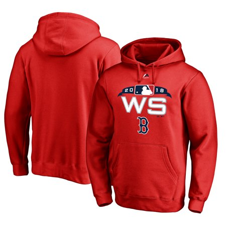 1c86e6b01 Boston Red Sox Majestic 2018 World Series Bound Authentic Collection Big    Tall Pullover Hoodie - Red - Walmart.com