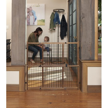 Evenflo Farmhouse Collection Position & Lock Tall Pressure Mount - Dead House Gates
