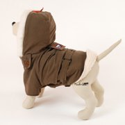 Pet Ego DogRich Siberian Brown Dog Coat