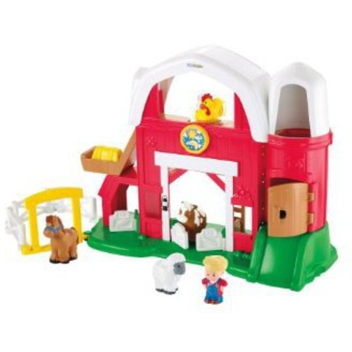 Fisher-Price Little People Fun Sounds Farm Play Set