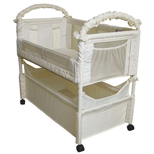 Arms Reach Concepts Inc. Co-Sleeper Mini Clear-Vue - Natural