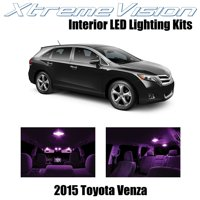 XtremeVision LED for Toyota Venza 2015+ (11 Pieces) Pink Premium Interior LED Kit Package + Installation Tool