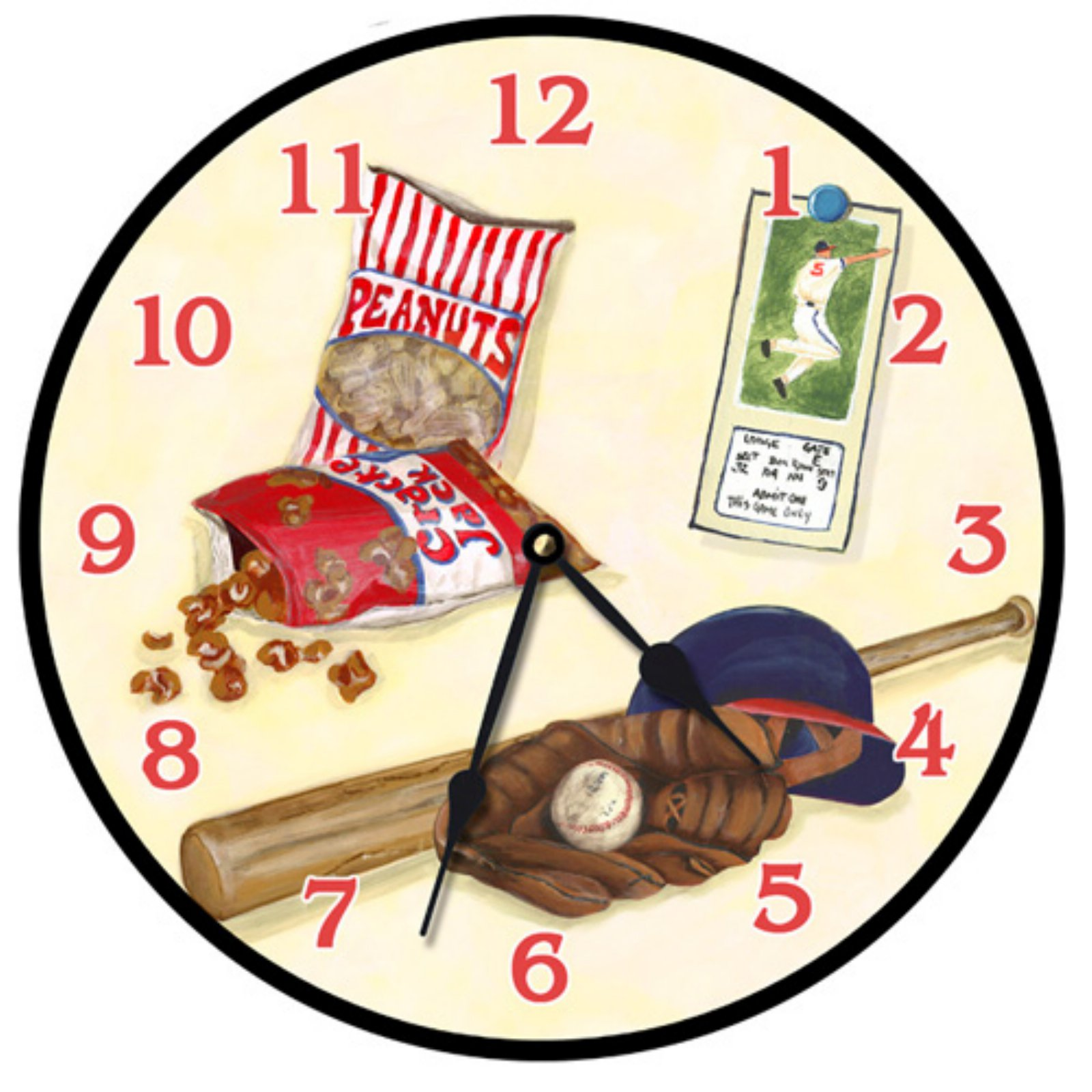 Lexington Studios Play Ball Wall Clock