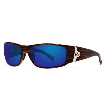 ONOS Ripia Blue Mirror +1.50 power Polarized Brown Frame (Polarized Power Sunglasses)
