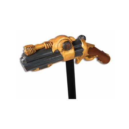 Steampunk Pistol Cane Halloween Costume Accessory - Alex Side Halloween