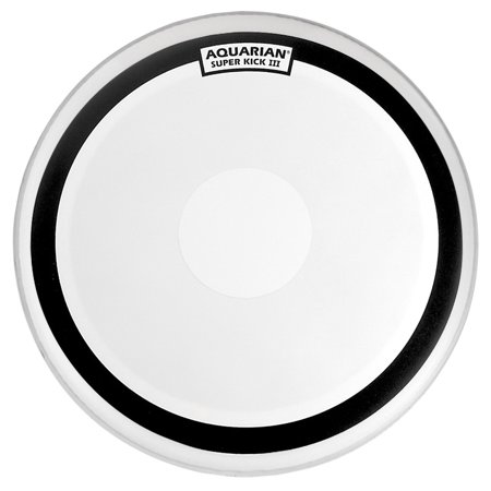 aquarian drumheads tcskii18 coated double ply 18-inch bass drum