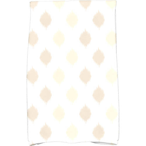"Simply Daisy 16"" x 25"" Ikat Dot Stripes Holiday Geometric Print Kitchen Towel by E By Design"