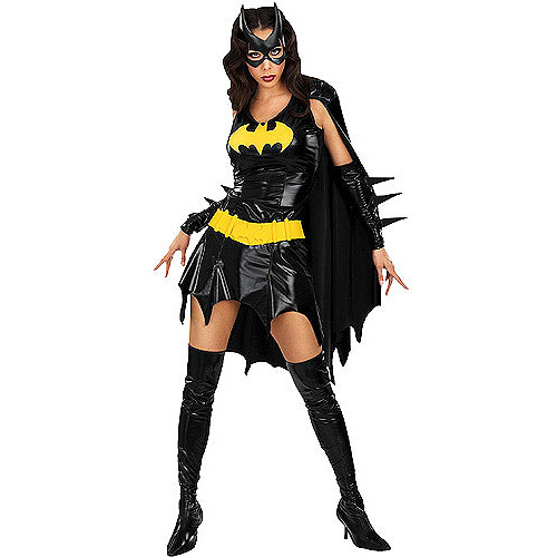 Batgirl Womans Dress Halloween Costume