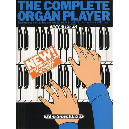 The Complete Organ Player: Book Three - Halloween Organ Player