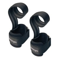 Harbinger Big Grip No-Slip Nylon Lifting Straps with DuraGrip (Pair), Pro
