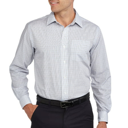 George Men's Long Sleeve Dress shirt - Walmart.com