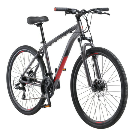 Schwinn DSB Hybrid Bike, 700c wheels, 21 speeds, mens frame, (Diamondback Womens 2016 Vital 1 700c Hybrid Bike)
