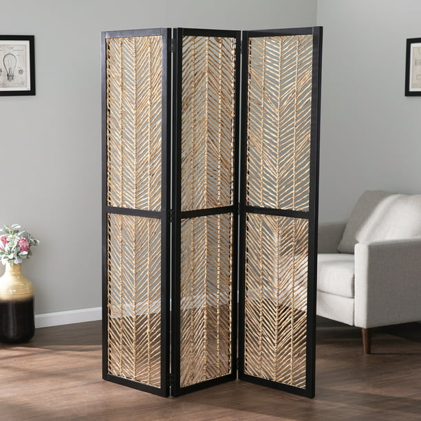 Quilly Woven Room Divider