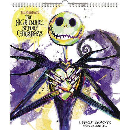 Nightmare Before Christmas Wall Calendar, More Pop Culture by ACCO Brands
