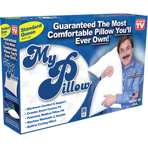 as seen on tv my pillow most comfortable pillow youu0027ll ever will own
