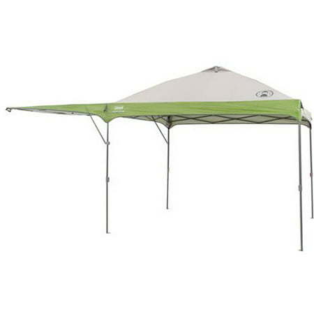 Coleman 10' x 10' Instant Straight Leg Canopy Gazebo with Added Swing Wall (100 Sq. ft Coverage)