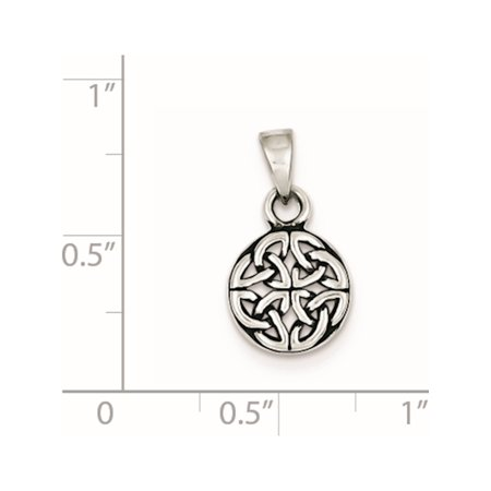 925 Sterling Silver Antiqued (9x12mm) Pendant / Charm - image 1 of 2