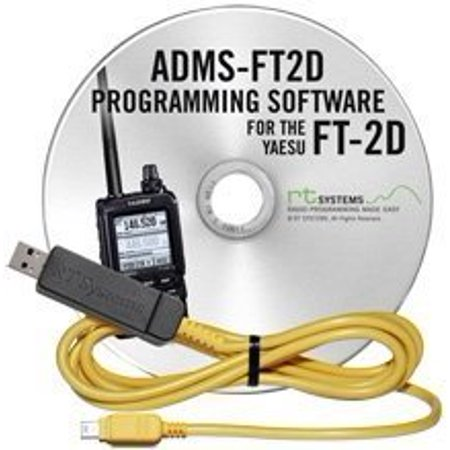 RT Systems Original ADMS-FT2D USB Programming Software (Version 5.00) with USB-68 USB to Special Mini-B Plug Cable for the FT-2DR - image 1 of 1