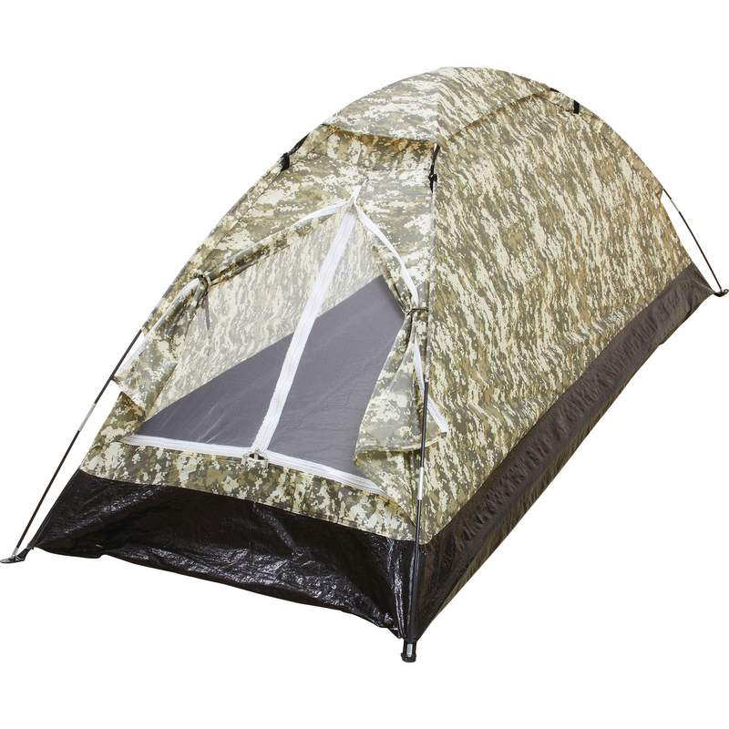 Digital Camo Xl 1 Man Tent - Sptent1xldc