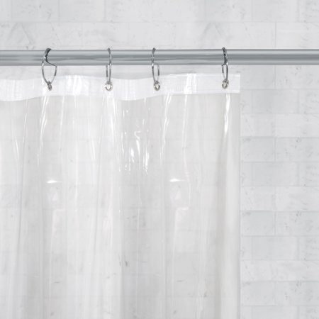 Better Homes & Gardens Super Heavyweight Clear Shower Curtain or Liner, 1