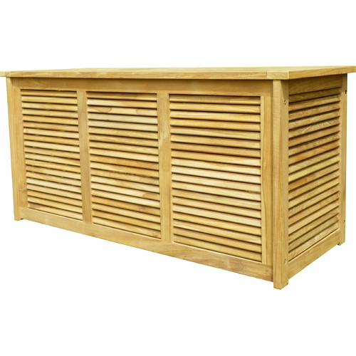 Arbora Teak Accent Teak Deck Box by Arbora Teak