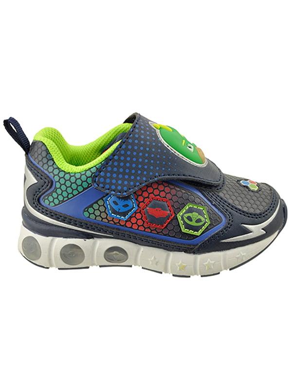 Pj Masks Sports Sandals Boys Blue Summer Beach Shoes Kids Gekko Catboy Owlette