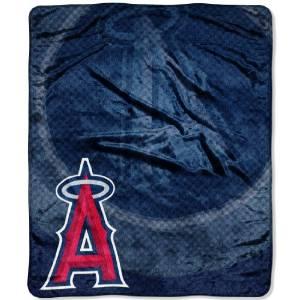 Los Angeles Angels of Anaheim Jersey Series 50x60 Micro Raschel Throw
